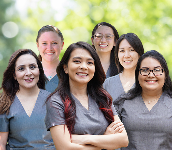 Plano Texas dental team